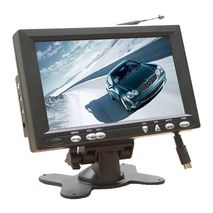 "7"" LCD Monitor - Phono & BNC (optional) inputs - Built in Speaker"