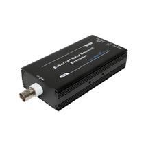 Single Channel Ethernet and Power Receiver Over Single Coaxial Cable DTV-IPCOAX/R