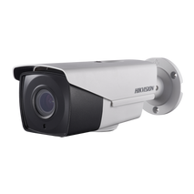 Hikvision DS-2CE16H1T-IT3ZE 5MP Turbo HD bullet camera with motorized varifocal 2.8-12mm lens and Power over Coax
