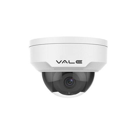 VALE Pro Series - 5 Megapixel IP Vandal Dome Camera + 30m IR (2.8/4mm lens)