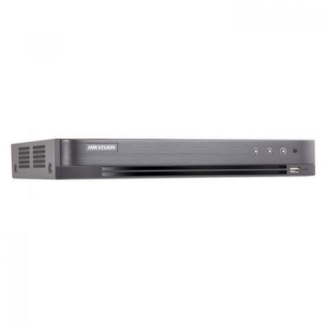 Hikvision DS-7204HUHI-K1/P 4 channel Turbo HD 4 channel recorder with Power over Coax up to 5MP