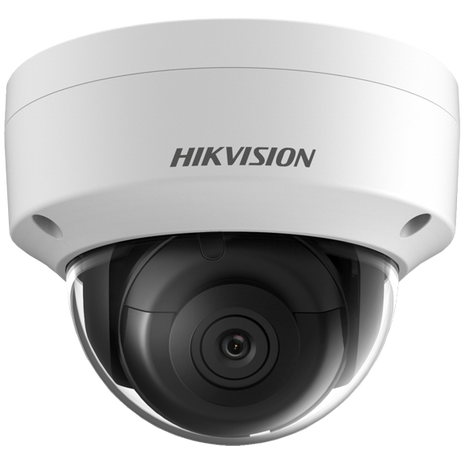 Hikvision DS-2CD2183G0-IS 4K IP Vandal dome camera with fixed 2.8mm Lens and audio I/O panel