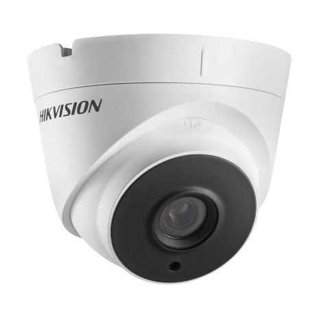 Hikvision DS-2CE56H1T-IT3E 5MP Turbo HD mini Eyeball camera with fixed 2.8mm (94.4°) Lens and Power over Coax