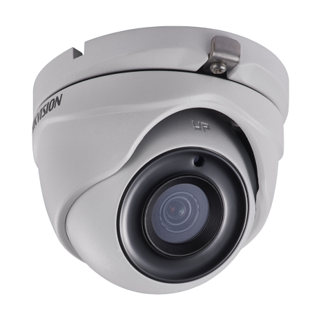Hikvision DS-2CE56H1T-ITME 5MP Turbo HD mini Eyeball camera with fixed 2.8mm (94.4°) Lens and Power over coax